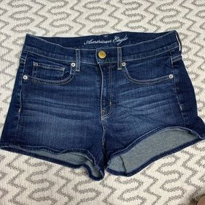 American Eagle Stretch Jean Shorts Size 6